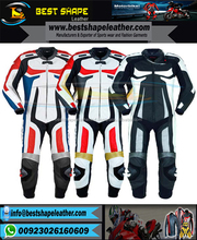 genuine High-quality Best-price custom Motorbike Leather Racing Suit / 1 Piece