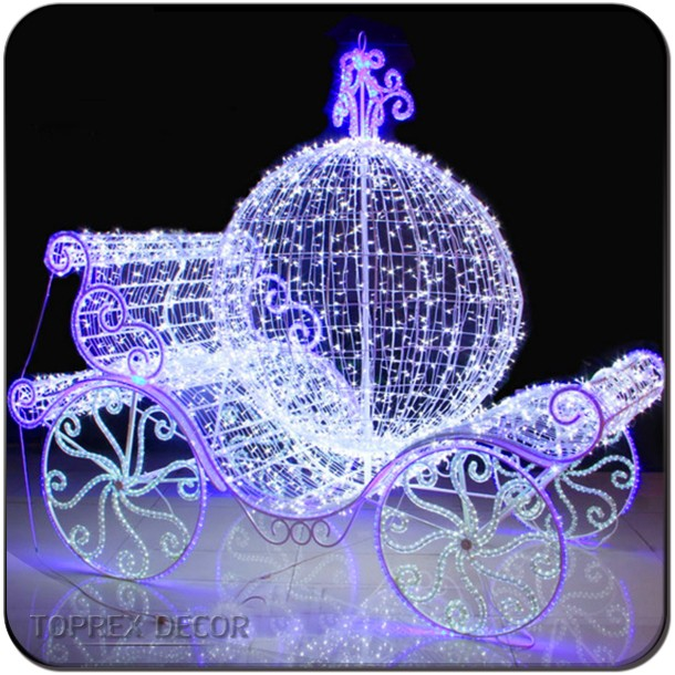 wedding decoration cinderella pumpkin carriage for outdoor