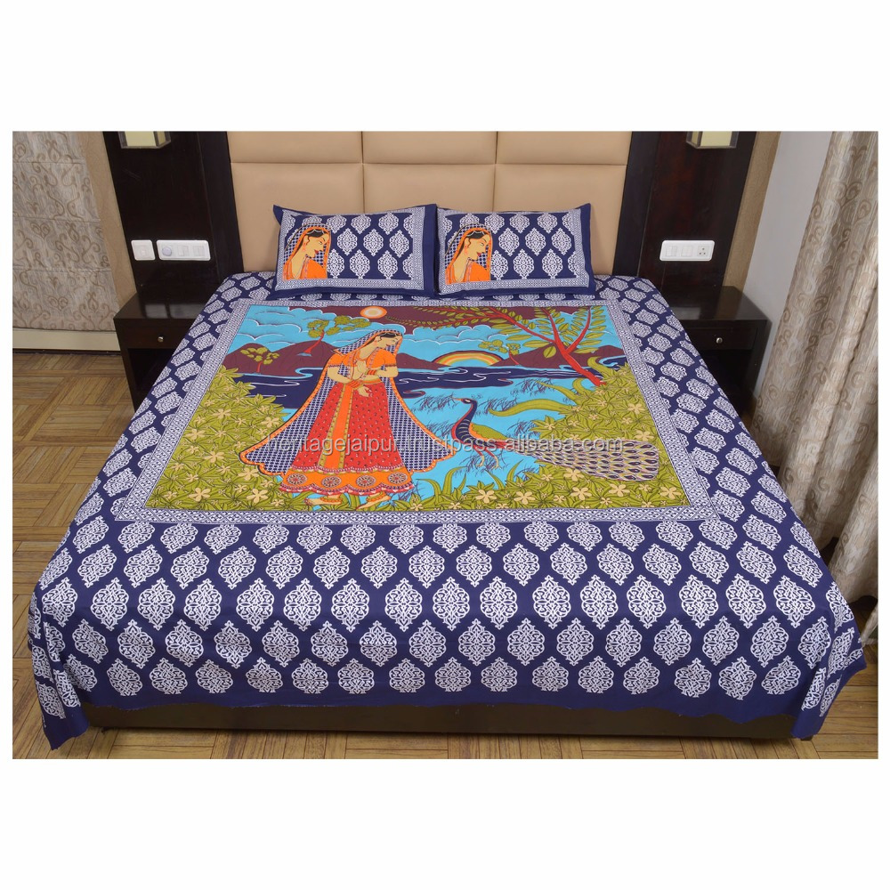Bed sheet design patchwork - Jaipur Cotton Bedsheet Jaipur Cotton Bedsheet Suppliers And Manufacturers At Alibaba Com