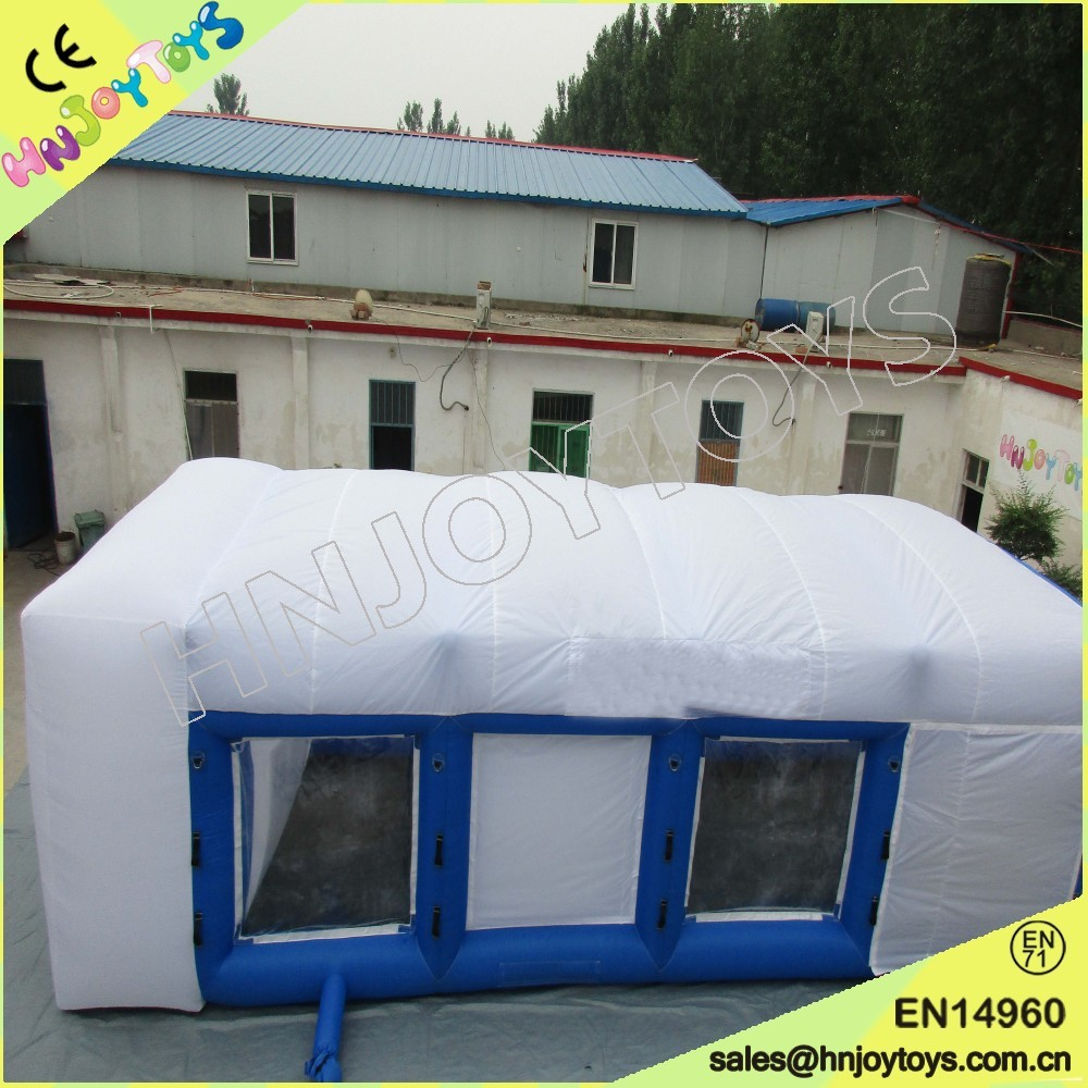 Portable Paint Tent Inflatable Paint Booth Trailer Movable Spray Booth for Car & Portable Paint Tent Inflatable Paint Booth Trailer Movable Spray ...
