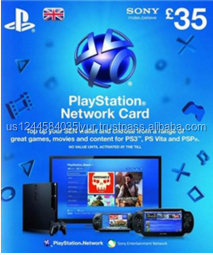 Sony PlayStation uk Store Gift Card 10