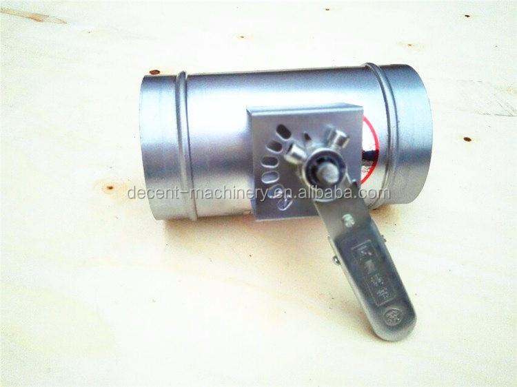Galvanized Steel Motorized Vent Damper For Hvac Systems