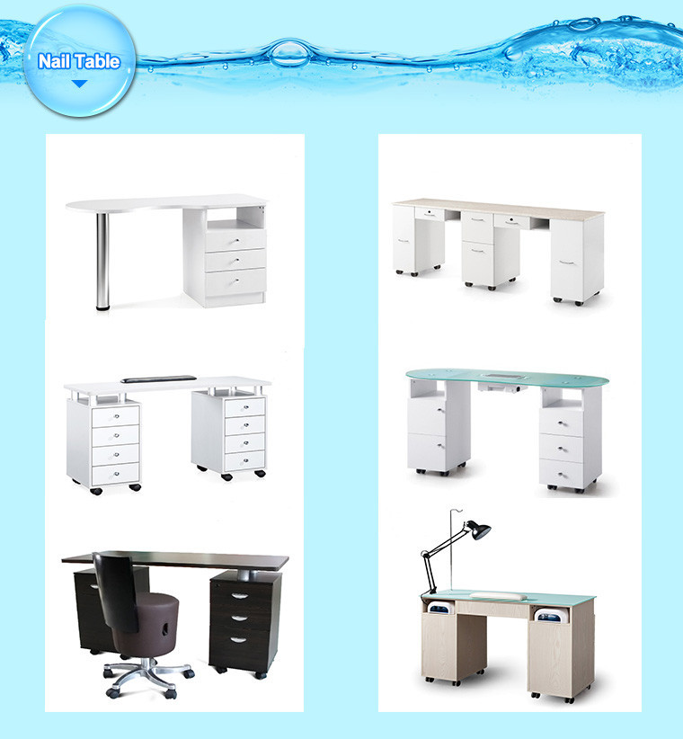 Nail Salon Equipment For Nail Table With Exhaust Fan - Buy Nail ...