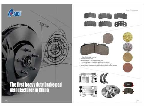 Padstar Auto Parts truck brake pad replacement brake disc car brake pads China factory
