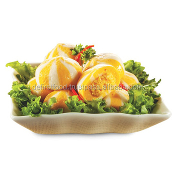 Savory Sea Urchin Flavoured Fish Ball Seafood Product