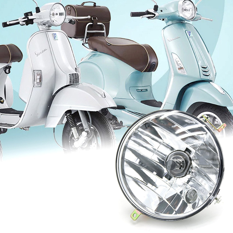 Vespa Speedometer Rim Repair Kit Glass Cover Mge 150 Lml Star Px 200 New Black