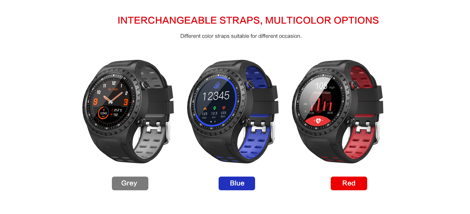 SIM card watch with GPS ,compass,MTK2503 and silicone strap