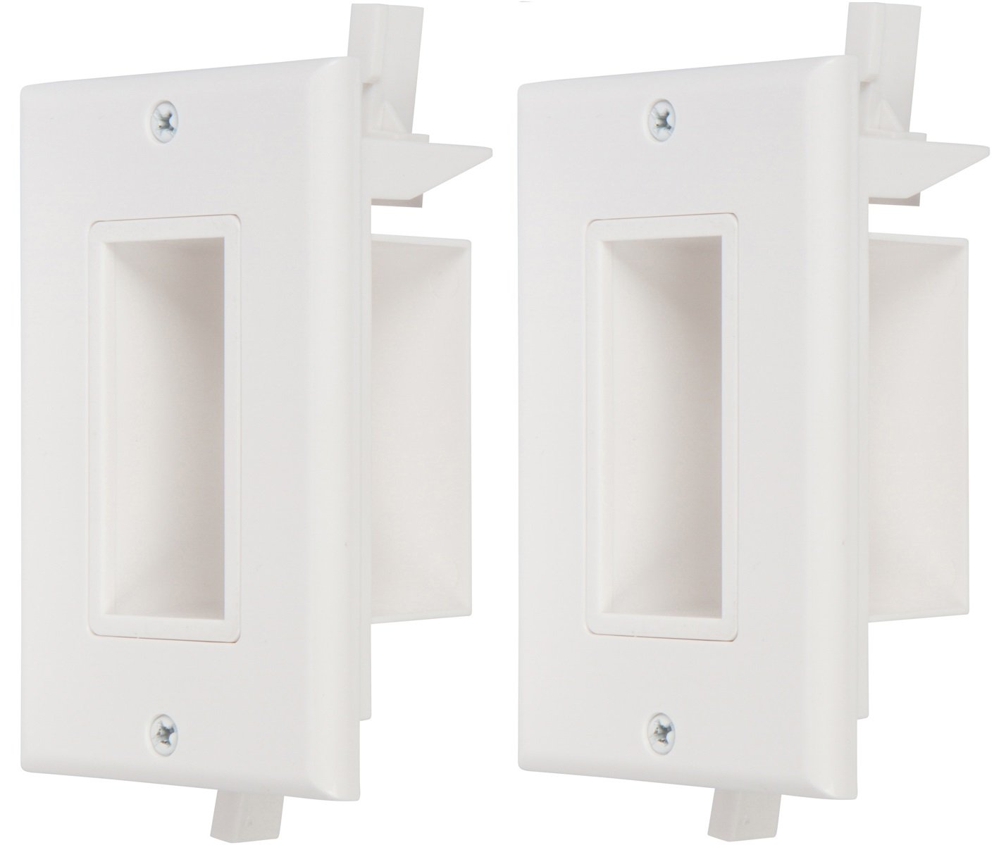Cheap Cable Outlet Wall Plate Find Deals On Tv Wiring Plates Get Quotations Buyers Point Recessed Low Voltage Easy To Mount Hide