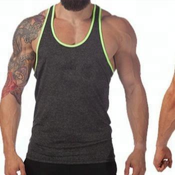 f6e5e4b700868 Whole Sale Capslock Sports Bodybuilding Gym Singlet  Stringer Vests  Plain  Cotton Gym Tank-