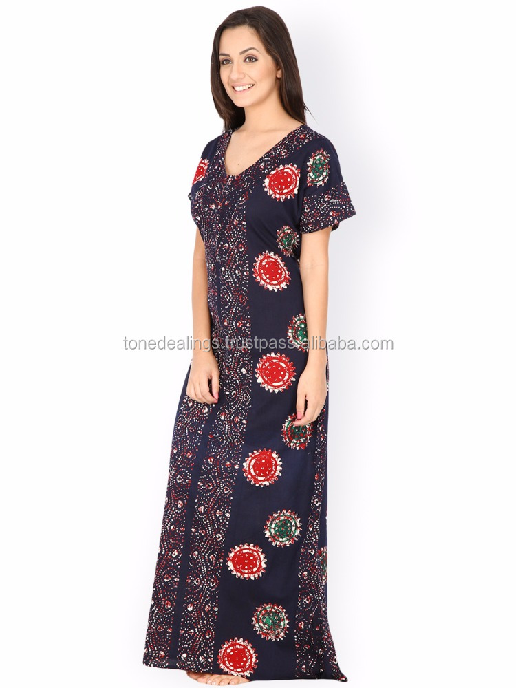 Cotton Nighty Dress – Dresses for Woman