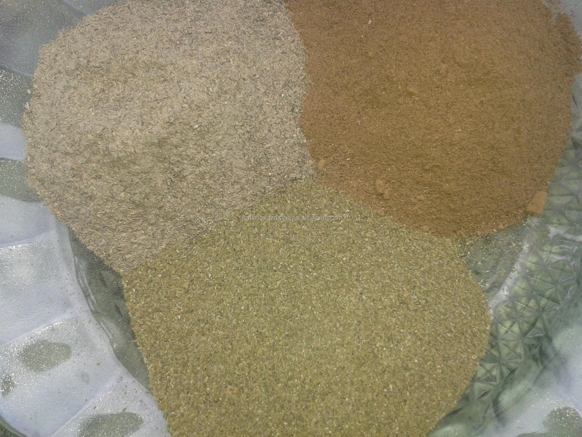 dried sargassum for stock feed