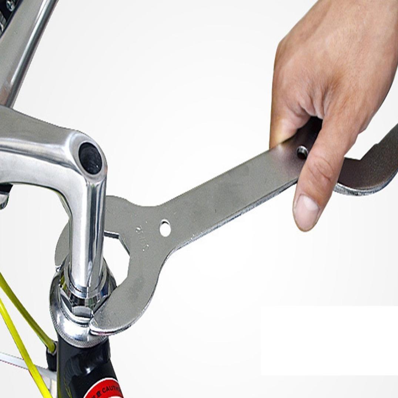 1 Pcs MTB Mountain Bike Headset Wrench Spanner 30 32 36 40 mm Multi-Head