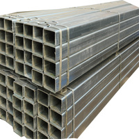 square tube 20x20 mm steel galvanized square hollow tube gi pipe for greenhouse