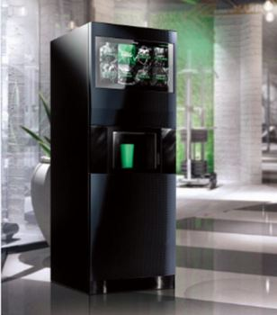 CE approval protein shake vending machine energy drinks with cold water system