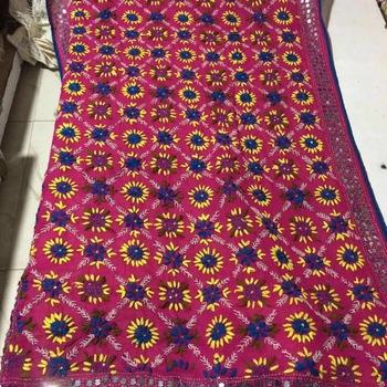 4b6d415d76 Patiala Phulkari Handwork Embroidery Dupatta - Buy Embroidery ...