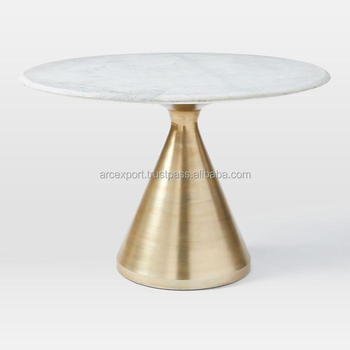 Gold Plated Base White Marble Top Table   Buy Gold Plated Base White Marble  Top Table,White Marble Coffee Tables,Gold Leaf Antique Marble Console ...