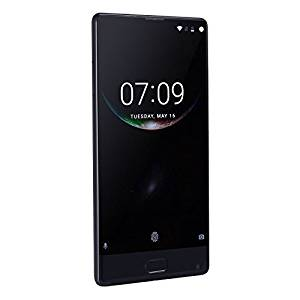 Generic DOOGEE MIX, 4GB+64GB, DTouch Fingerprint, Dual Back Camera, 5.5 inch Super AMOLED Screen Android 7.0 Helio P25 Octa Core 1.6GHz + 2.5GHz, Network: 4G, Support OTA, WiFi, GPS, Dual SIM(Black)
