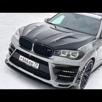 "Hood for BMW X5 (F15/F85) X6 (F16/F86) 2013-2016 ""Renegade-Design"""