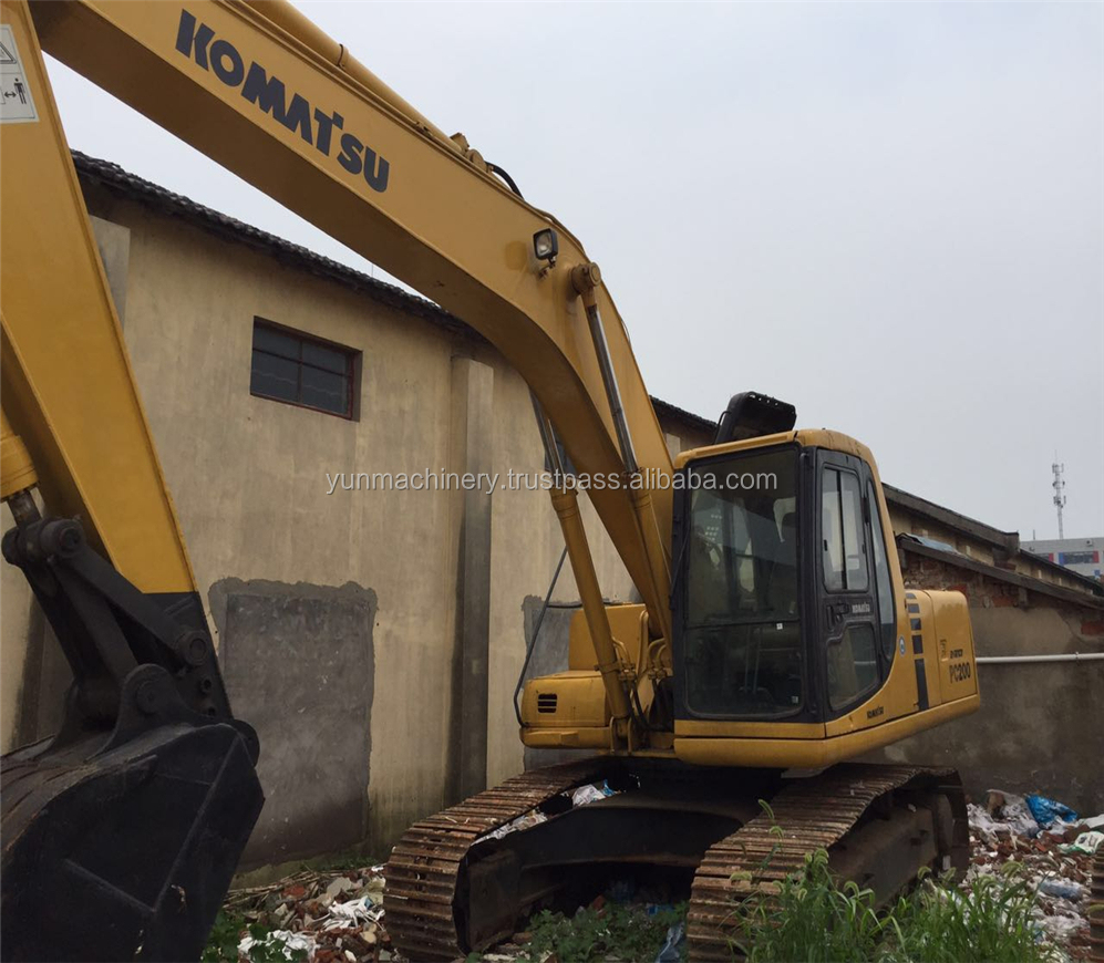Used Excavator Komatsu PC200 6 PC220 6 pc200 komatsu wiring diagram dynapac wiring diagram, hyster dynapac ca250d wiring diagram at bayanpartner.co