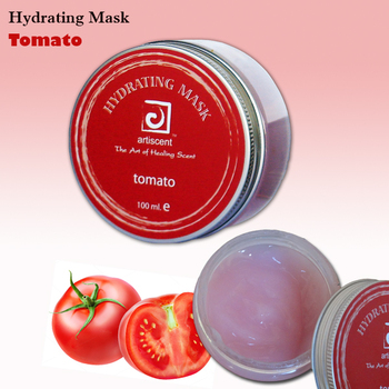 Home hydrating facial can