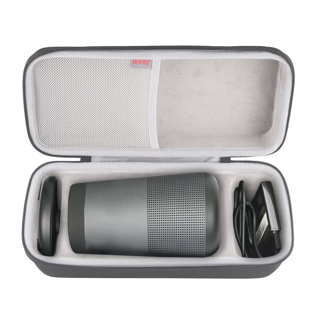 Get Quotations · BOVKE Travel Case for Bose SoundLink Revolve Portable  Bluetooth 360 Speaker Hard EVA Shockproof Carrying Protective d375a0678d2e3