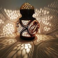 A Dark Temptation | Gourd Lamp Unique Gift Idea Night Light Gothic Brown Home Decor Ambiance Mood Lighting
