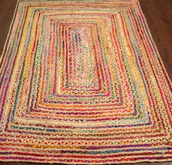 Indian Cotton Dhurrie Rugs For Living