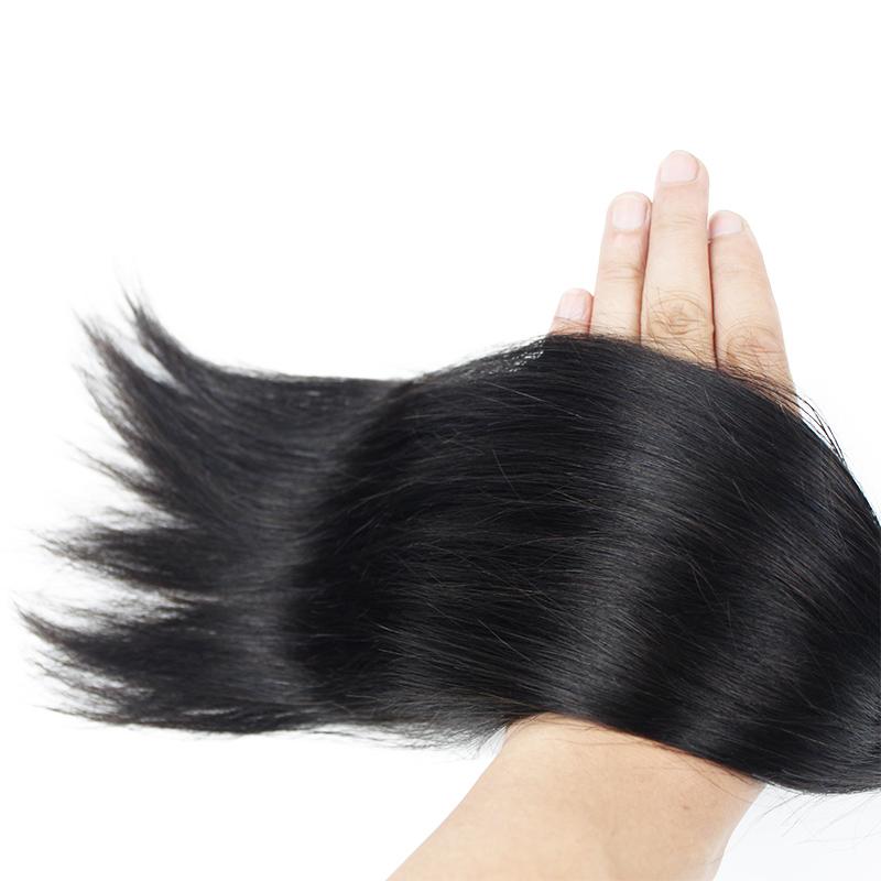 Morein Wholesale 100% virgin human hair cuticle aligned supplier silky straight hair weft mink Brazilian hair bundle фото
