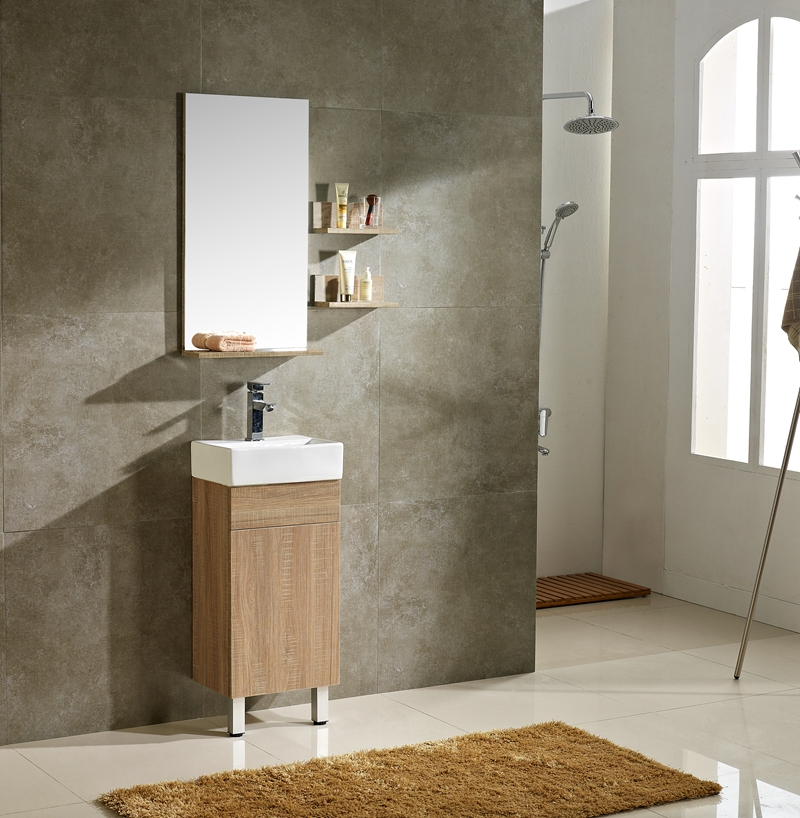 china cheap sanitary items sturdy mirror cabinet bathroom for apartment project