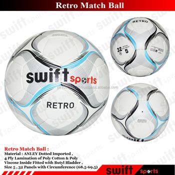 Real Match Quality Football / Anley Custom Football - Buy Retro Swift Match  Ball,Quality Material Football / Match Quality Football,Best Quality