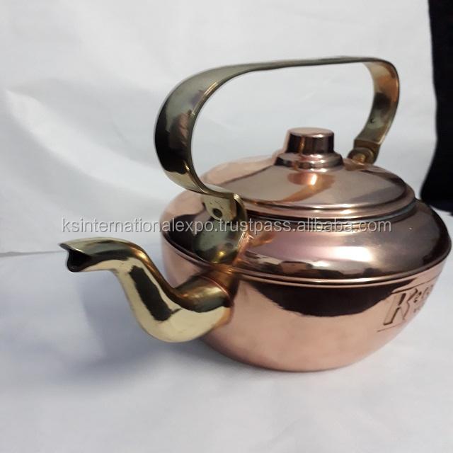 Antique Solid Copper Kitchen Tea Kettle Buy Decorative Tea Kettles