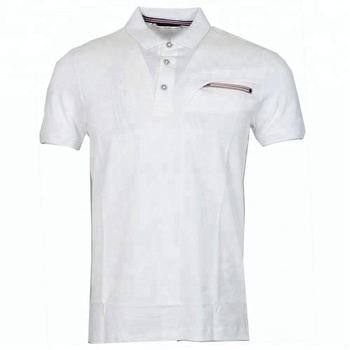 a6f1af5c98b9b7 Wholesale Mens 100% Cotton Polo Shirts With Customized Logo Embroidery Polo  T Shirt