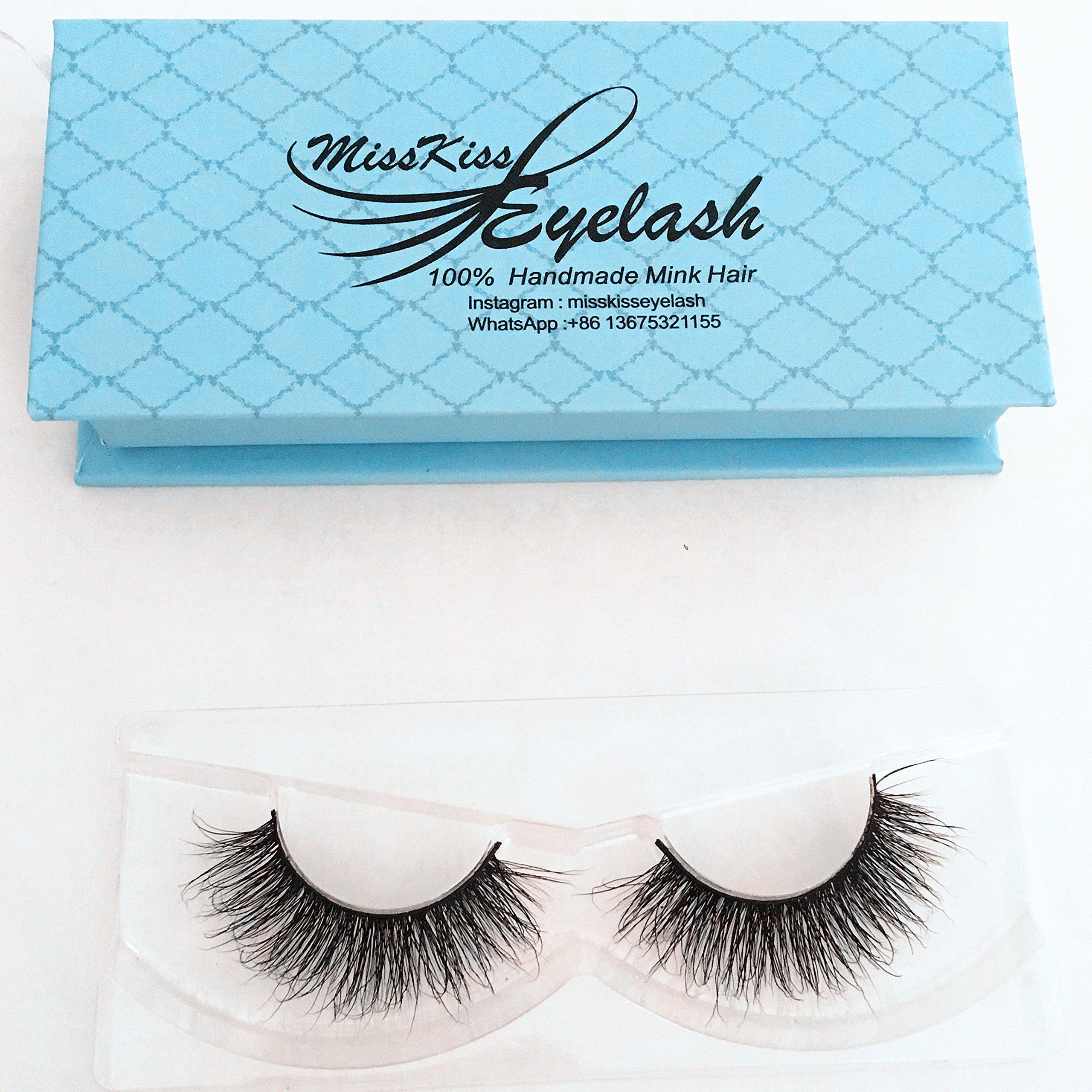 1bbb6badc9c Get Quotations · Mink 3D Lashes Dramatic Makeup High Quality Strip Eyelashes  100% Siberian Fur Fake Eyelashes Hand