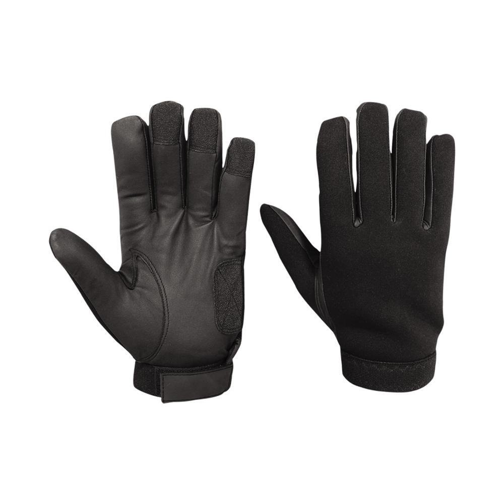 Men/'s Police// Security Law Enforcement Patrol Search Duty Leather Glove Snug Fit
