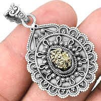 Extremely Fashion Jewelry Filigree Silver Pendant 925 Sterling Silver Pendant Wholesale Silver Jewelry Supplier