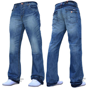 Custom design fashionable cotton jeans pants for mens and womens by professional Bangladeshi manufacturer.