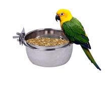 Nieuwe Collectie Rvs Vogel Opknoping Bowls <span class=keywords><strong>Feeder</strong></span>