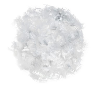 Concrete PP polyester staple fiber, concrete monofilament PP fiber 3,6,9,12,18mm
