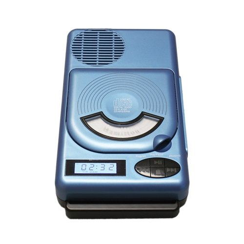 HamiltonBuhl Top-Loading Portable Classroom CD Player with USB and MP3