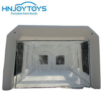 Durable customized top quality with filters outdoor inflatable auto spray booth for sale