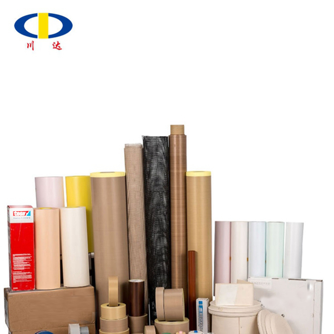China suppliers 9018, 9025 ptfe coat fiber glass cloth adhesive tape roll with release paper