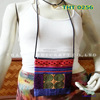 Embroidered HMONG Hill Tribe passport bag