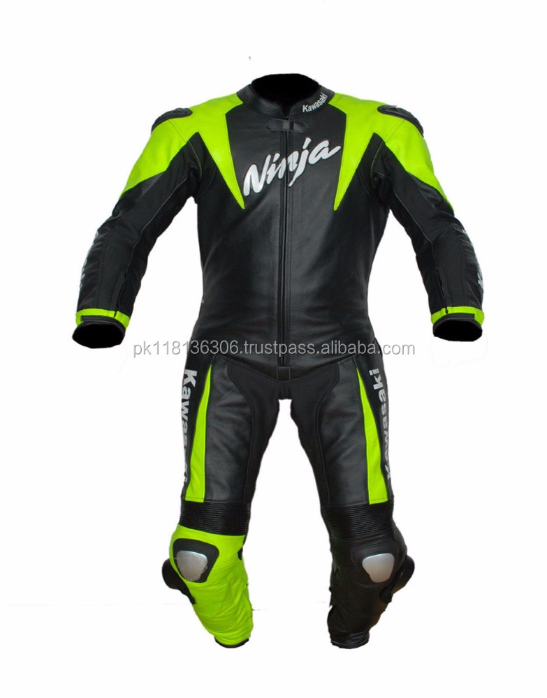 Genuine Cowhide Leather Racing Suit CE Armour