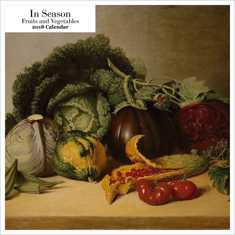 Retrospect Group in Season Fruits & Vegetables 2018 Square Calendar