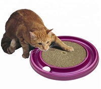 2019 New Pet Cat Toy Turbo Scratcher Attractive Cat Toy Catnip Cat Scratcher Toy