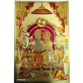 Gold Foil 3d Indian God Gold Foil Picture Art And Craft Indian 24k For Decoration Or Collection Buy Gold Foil Indian God Gold Foil Picture 24k Gold