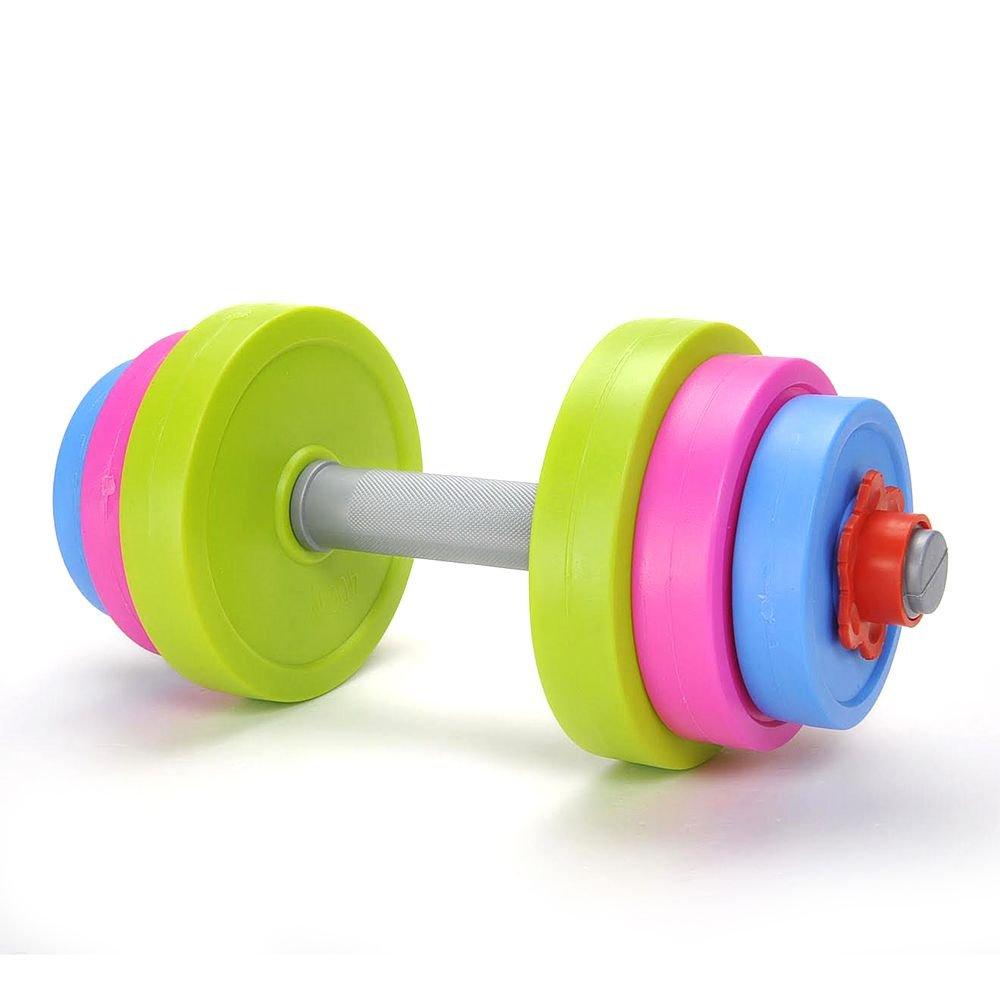 Adjustable Dumbbell Sports Toy Set for Kids Child Boys Girls