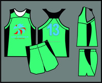 Women's Sublimated basketball Uniforms/ Sublimated basketball Jerseys