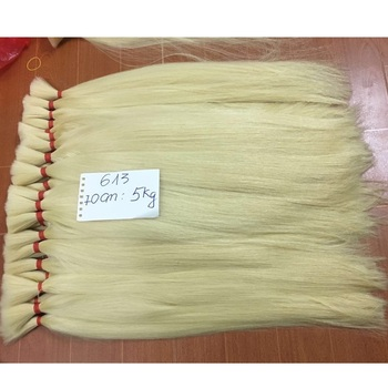 Human Hair Blonde Bulk Hair 613 60 22 Anka Hair