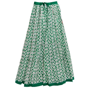 895a3d54562cf2 Rajasthani Hand Block Printed Lehenga Skirts - Buy Rajasthani Long ...